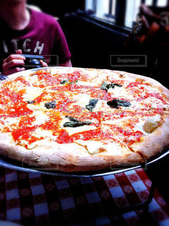 ニューヨーク,アメリカ,ブルックリン,ピザ,Grimaldi's Pizzeria,グリマルディーズ,レギュラーピザ