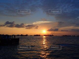 海,モルディブ,夕日,夕焼け,sunset,sea,Maldives,フルマーレ,夕日が綺麗