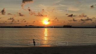海,空,モルディブ,夕日,雲,リゾート,sunset,Sky,sea,Maldives,ocean,resort