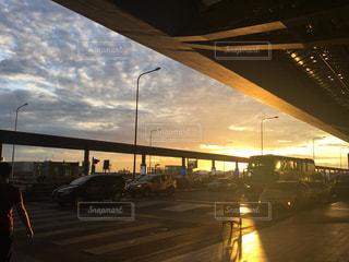 朝の空港 in Bangkokの写真・画像素材[1247547]