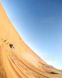 砂漠でアクティビティの写真・画像素材[1247592]