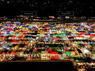 バンコクのナイトマーケットの写真・画像素材[1684406]