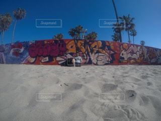 LAの朝散歩の写真・画像素材[2284810]