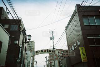風景,商店街,会津