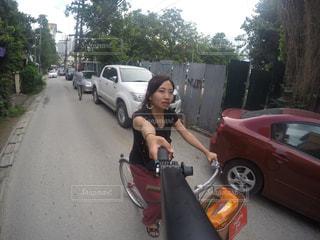 自転車の写真・画像素材[439901]