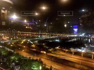 風景,夜,韓国