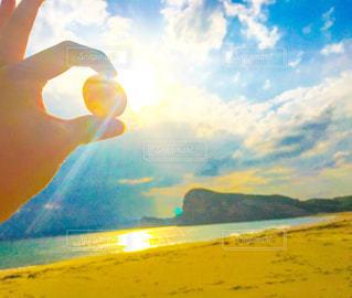 海,太陽,ビーチ,晴れ,青空,島,青,砂浜,貝殻,鹿児島,離島,種子島,白砂
