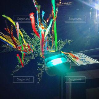 ライトアップされたステージの写真・画像素材[1295093]