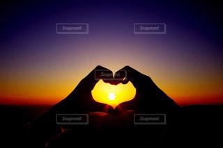 夕日の写真・画像素材[442259]