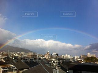虹,景色,街
