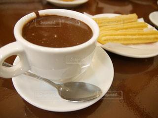 スイーツ,チョコレート,スペイン,バルセロナ,ホットチョコレート,チュロス,ディップ,granja la pallaresa