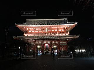 浅草寺の夜の写真・画像素材[565388]