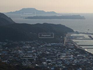 自然,風景,海,島,展望,山,景色,展望台,眺望,町並み,離島,眺め,式根島,神津島,新島,伊豆諸島,富士見峠展望台