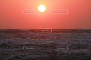 空,夕日,ビーチ,綺麗,夕焼け,サンセット,日本海,なぎさドライブウエイ