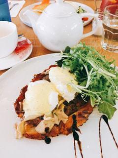 カフェ,朝食,シンガポール,茶,エッグベネディクト,Arbite