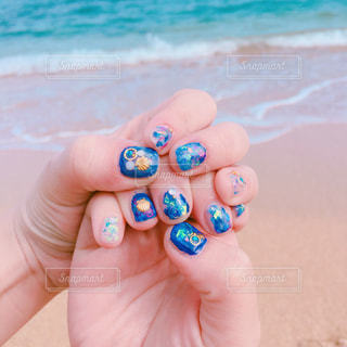 海,夏,トロピカル,セルフネイル,sea,summer,夏ネイル,シェル,shell,HAWAI,トロピカルネイル,セルフジェルネイル