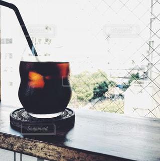 アイスコーヒーの写真・画像素材[3012842]