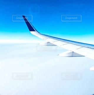 雲の上の写真・画像素材[3012850]