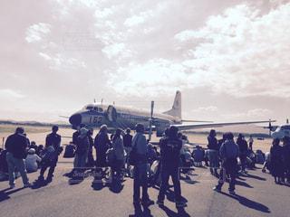 空軍基地の写真・画像素材[3012859]