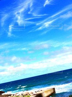 海の横にある砂浜のビーチの写真・画像素材[1315168]