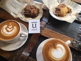カフェの写真・画像素材[450817]