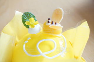 スイーツ,春,ケーキ,黄色,洋菓子,蜂,ミツバチ