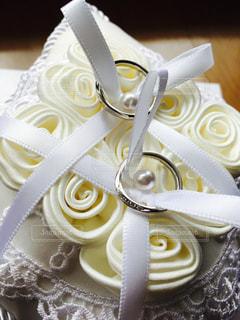 白,指輪,リボン,結婚,リングピロー,りぼん
