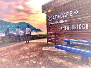 海,空,cafe,boatcafe