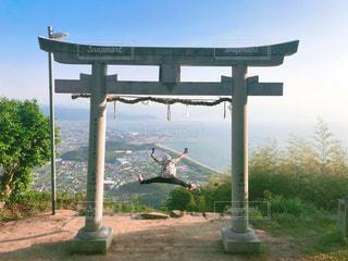 自然,絶景,神社,鳥居,山,夢,ポジティブ,山登り,可能性