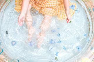 小さな女の子の写真・画像素材[4717353]