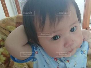 顔,男の子,目,乳幼児,両目,生後10ヵ月