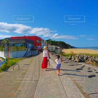 風景,海,晴れ,休日,お散歩
