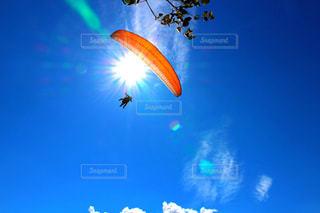 空の凧の写真・画像素材[1124309]