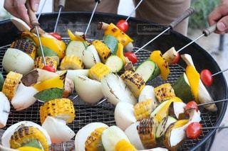 カラフル,野菜,BBQ,串焼き,彩り