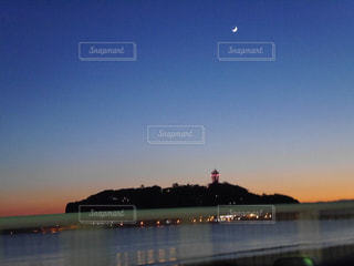 風景,空,夕日,夕焼け,江ノ島