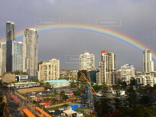 虹の写真・画像素材[481427]