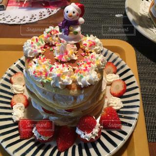 #クリスマスケーキ#手作りの写真・画像素材[491037]