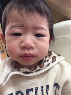 #泣くの写真・画像素材[497375]