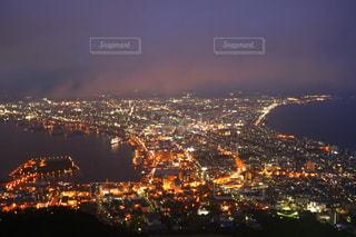 北海道と青森を一望の写真・画像素材[902262]