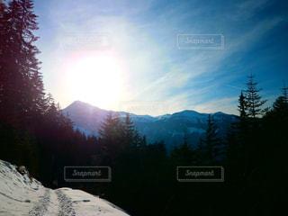 雪山の写真・画像素材[1741946]