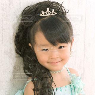 モデルになりきる娘の写真・画像素材[857296]