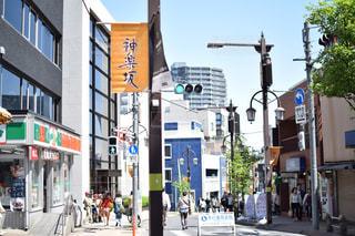 神楽坂の写真・画像素材[565953]