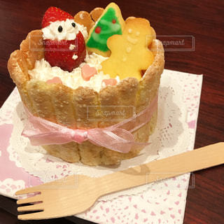 ケーキ,苺,クリスマス,サンタ,手作り,イチゴ