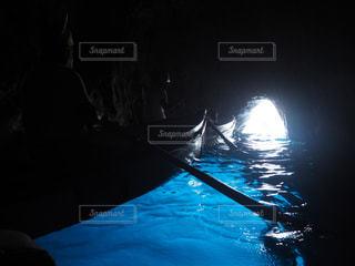 青の洞窟の写真・画像素材[1332600]