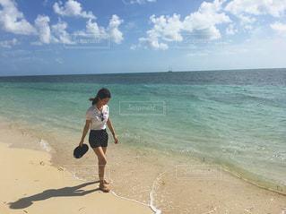 グリーン島のビーチにての写真・画像素材[1388380]