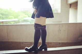 学生,光,高校生,セーラー服,制服,女子高生,ニーハイ,schoolgirl