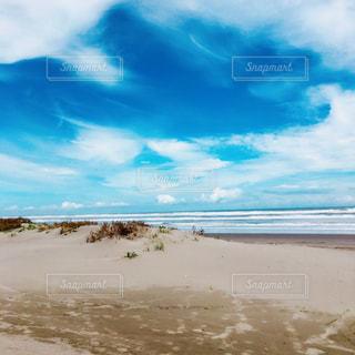 晴れてる空と海の写真・画像素材[469943]