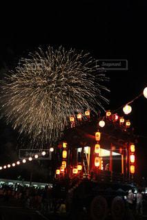 花火,祭,おでかけ,曳山