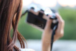 ファインダー越しの君と私の世界の写真・画像素材[1260764]