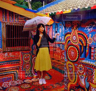 虹の村で雨に唄えば - No.952965